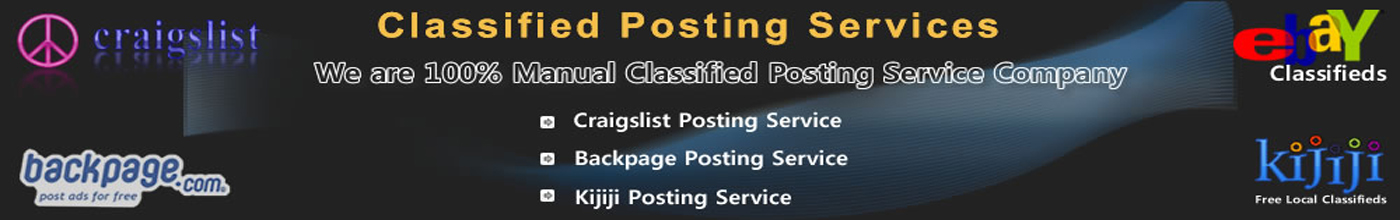 Craigslist Posting Service Header